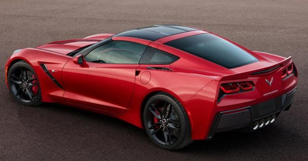 Chevrolet Corvete C7 Stingray.